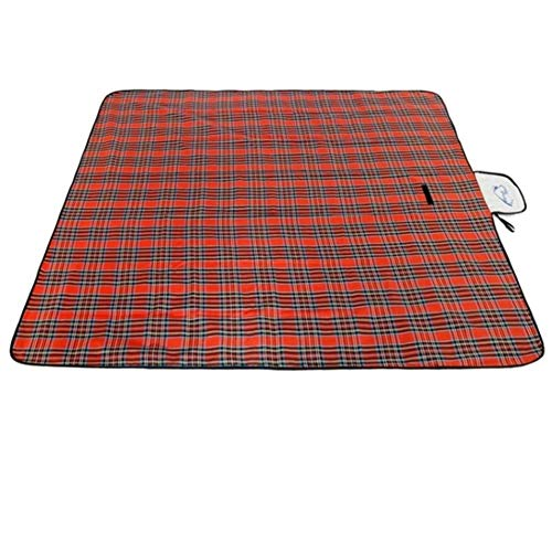 FXPCQC Campingdecke Picknickdecke 150x180cm Picknickmatte Tragbare Isomatte PE Wasserfeste Stranddecke Leichte Baby-Krabbeldecke