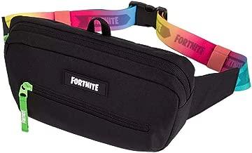 FORTNITE Sling Bag, Black/Bright, One Size