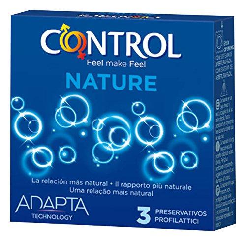 Control Nature Preservativo - Paquete de 3 preservativos