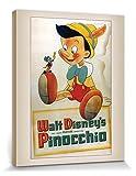 1art1 Pinocchio - Conscience Bilder Leinwand-Bild Auf