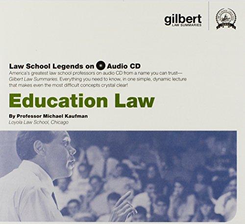 Law School Legends Audio on Education Law (Law School Legends Audio Series)