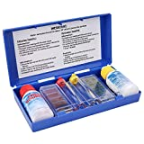 Vobor Pruebas de Caja de Agua Piscina Tester, PH Cloro Kit de Prueba de Calidad del Agua, Piscina pH Test Kit