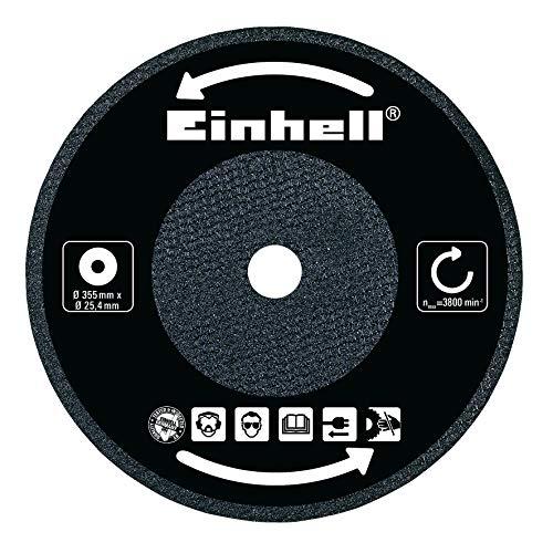 Original Einhell Trennscheibe für Metall-Trennmaschinen (passend für TC-MC 355 und TH-MC 355, Durchmesser 355 x 25.4 x 3,2 mm, für max. 4400 min-1 geeignet)