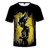 Nikea Unisexo 3D Impresión Anime Camisetas Juego Modelo Camisa Moda Ropa de Calle Cosplay tee Conmemorar Disfraz Suelto Casual Manga Corta Cuello Redondo Verano Hip Hop Tops,3,XXXXL