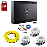 Wet Sounds Sinister SDX6 6-Channel Amplifier & Stinger 3-Meter 4-Gauge Amplifier Wiring Kit w/RCAs