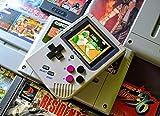 Arcademania Bittboy v3.5 Consola Retro Portátil + MicroSD 8Gb con firmware 4.2 pre-instalado + BOLSA protectora | Consola classic mini para jugar a los mejores juegos retro