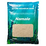 Landen Namaule Sand 2kg (4.4 lbs.), Super Natural for Aquarium Landscaping, Cosmetic Sand for Plant Tank, Natural River Sand for Freshwater or Blackwater Biotope Tank 311003