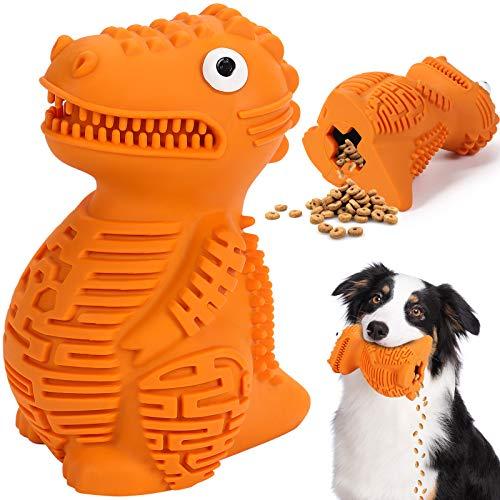 G.C Juguetes Perros Grandes Resistentes, Juguet Indestructible Interactivo Morder para Perro, Cepillo de Dientes para Cachorro de Perros Pequeños Medianos Inteligencia Mascotas Masticar Juego