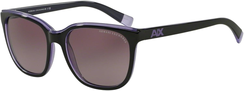 Exchange Armani 0AX4031 Sun Full Rim Rectangular Womens Sunglasses