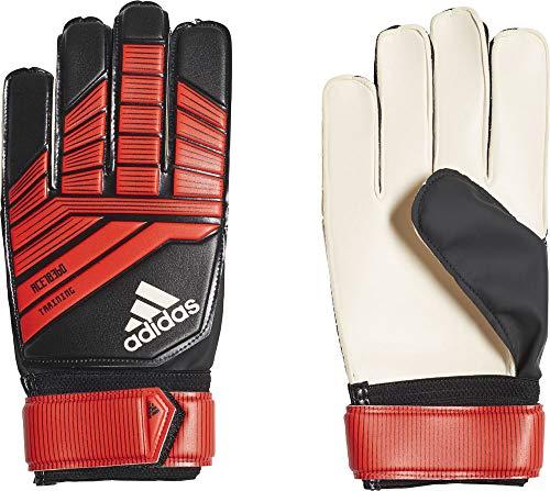 adidas Herren Torwarthandschuhe Predator Training, Black/Red/White, 8, CW5602