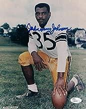 John Henry Johnson Autographed Photograph - 8x10 11842 - JSA Certified - Autographed NFL Photos