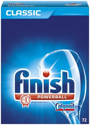 Calgonit Finish Classic Tabs, 1er Pack (1 x 72 Tabs)