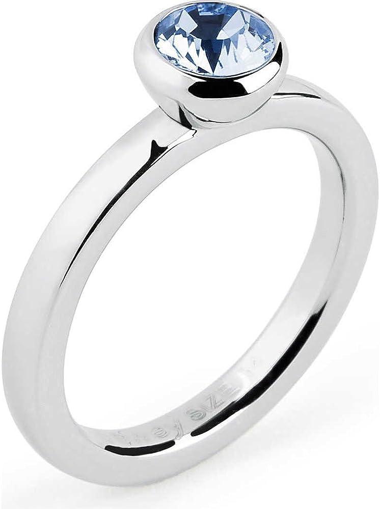 Brosway anello per donna in acciaio e  swarovski 8057438991433