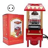 Mini macchina per popcorn   Macchina automatica per popcorn   Rosso modello retrò Macchin...