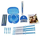 Home Professional Teeth Whitening Kit Packed with 4 XL Syringe with Light, Moth
