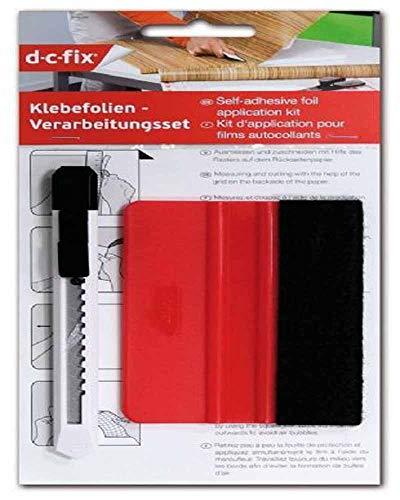 d-c-fix, Verarbeitungsset mit Rakel und Schneidemesser
