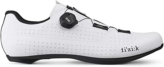 Fizik Men's Tempo R4 Overcurve Road Cycling Shoes - White/Black