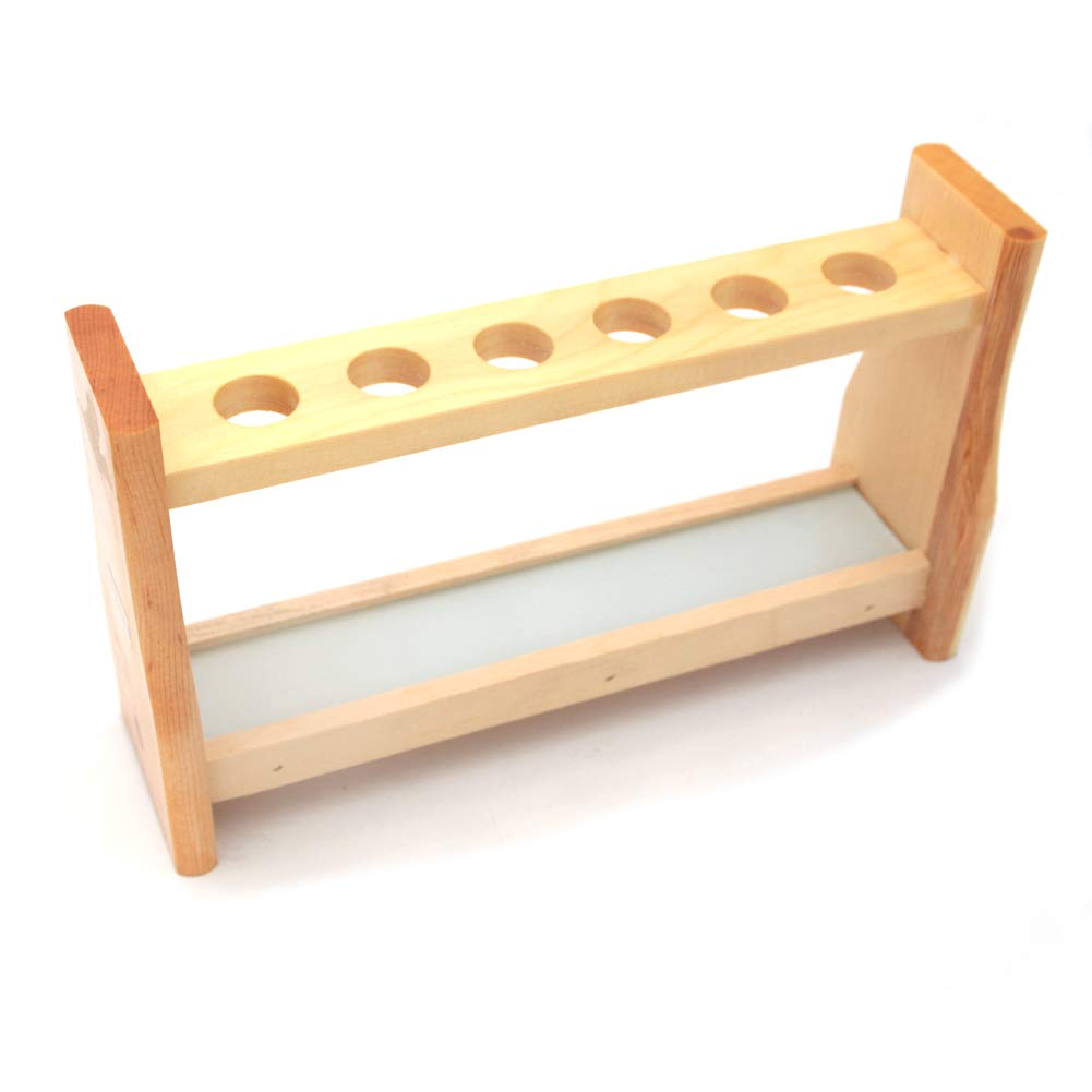 Max 86% OFF shopping Dtacke Wood Test Tube Rack Labs Premium Te Wooden