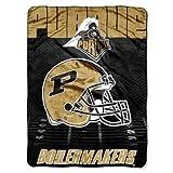NORTHWEST NCAA Purdue Boilermakers Micro Raschel Throw Blanket, 60' x 80', Overtime