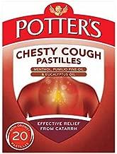 Potters Catarrh Pastilles 45G Chesty Cough 20 Non-Drowsy