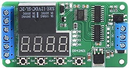 sourcing map Voltaje De Bobina De AC 12V Rel/é De Potencia Electromagn/ética DPDT De 8 Clavijas Con Base De Z/ócalo
