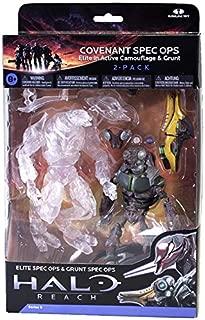 Halo Reach Action Figure 2 Pack Covenant Spec Ops Elite & Grunt