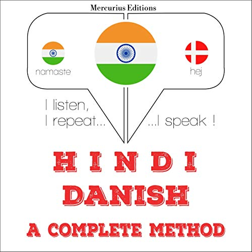 Hindi - Danish. a complete method cover art