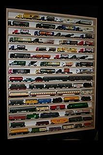 V82- Vitrine murale 90 x 115 x 6 cm étagère meuble rangement de collection miniature moto collecteur tableau d'affichage t...