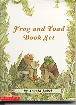Paperback Frog and Toad Book Set: Frog and Toad Are Friends; Frog and Toad Together; Days with Frog and Toad; Frog and Toad All Year Book