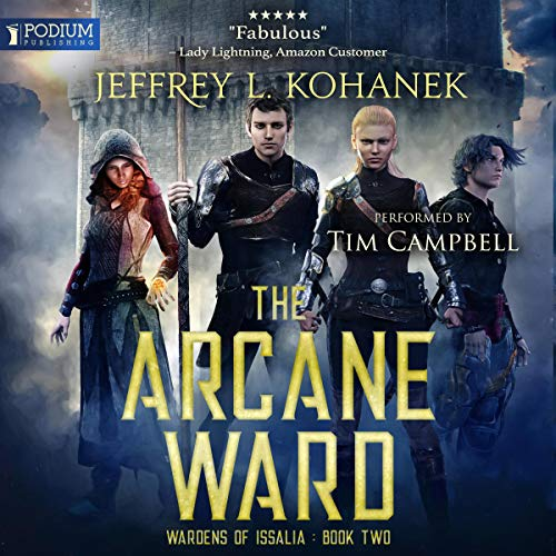 The Arcane Ward audiobook cover art