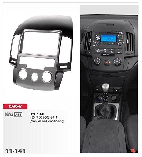 carav 11-141 Doppel DIN Radioblende mit Manueller Klimaanlage