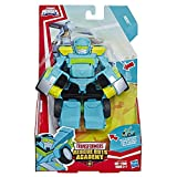 Playskool Heroes Transformers Rescue Bots Academy Hoist Converting Toy Robot, 6' Action Figure, Toys for Kids Ages 3 & Up