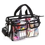 Bolsa transparente, bolsa de almacenamiento de cosméticos EVA bolsa de viaje portátil de...