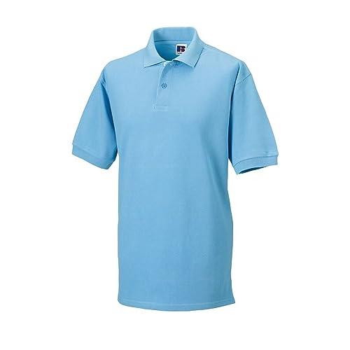 376761bda New Mens Polo Shirt Short Sleeve Polo T-Shirt Classic Plain Top Tee PK Plain