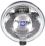 HELLA 1F7 004 700-031 Projecteur longue portée - Rallye 1000 - Halogène - H2 - 12V - rond - Ref. 37,5 - gris fumée - Montage en saillie - Endroit d'assemblage: gauche/droite