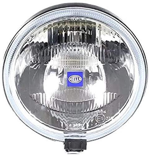 HELLA 1F7 004 700-031 Fernscheinwerfer - Rallye 1000 - Halogen - H2 - 12V - rund - Ref. 37,5 - rauchgrau - Anbau - Einbauort: links/rechts