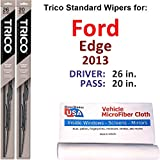 Wiper Blades Set for 2013 Ford Edge...