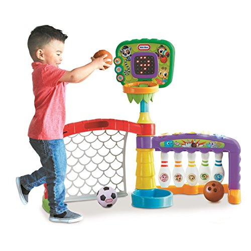 Little Tikes 3-in-1 Sports Zone Baby Toy review