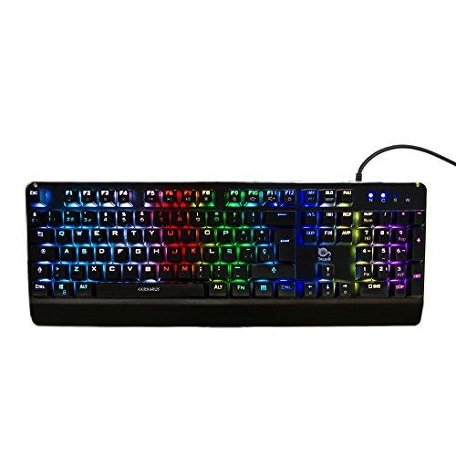Talius Cerberus - teclado mecánico gaming, led por switch, modo inGame, función anti Ghosting,