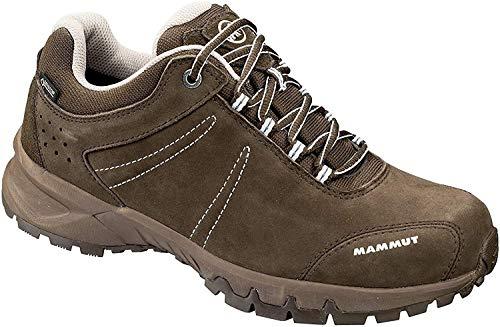 Mammut Nova III Low GTX, Chaussures de Cross Femme, Gris (Bark-White 0627), 38 EU