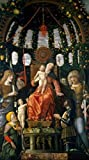 Andrea Mantegna – Virgin and Child Surrounded by six
