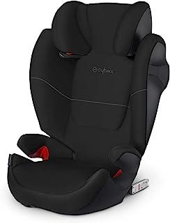 Cybex Silver Solution M-fix 519001115 Silla de Coche, Grupo 2/3, para Niños, para Coches con y sin Isofix, Colección Color 2021, Negro (Pure Black)