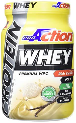 ProAction Protein Whey - barattolo da 900 g (Rich Vanille)