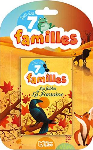 Jeu de 7 familles: Les Fables de La Fontaine - Dès 5 ans