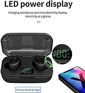 FairOnly F6 Wireless Earphone Blueteeth V5.0 LED Display Touch Button Sport Headphone Super Bass Stereo In-ear Earbuds Headsets Electronics
