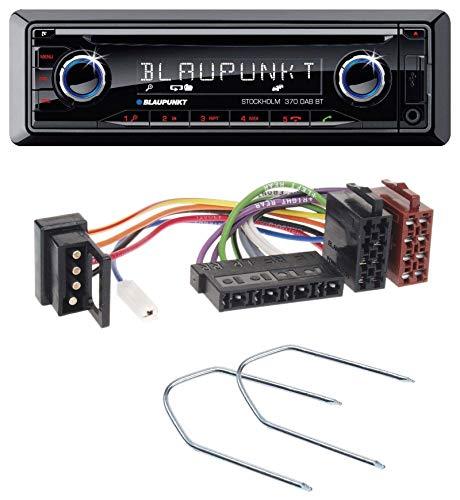 caraudio24 Blaupunkt Stockholm 370 DAB BT CD DAB Bluetooth MP3 USB Autoradio für Mercedes E-Klasse W124 S-Klasse W126