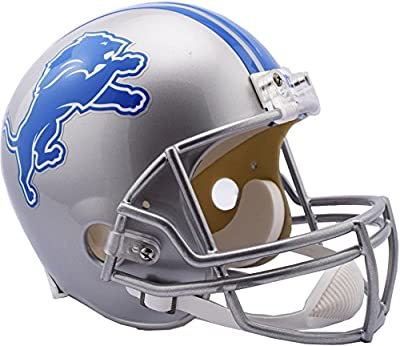 Riddell Detroit Lions VSR4 Full-Size Replica Football Helmet - Fanatics Authentic Certified - NFL Replica Helmets