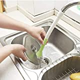 DTH Kitchen Sink Tap Shower Head Water Saving Faucet with Vegetables Cleaning Brush.