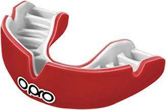 OPRO Power-Fit Mouthguard   Gum Shield for Rugby, Hockey, Wrestling, and Other Combat and Contact Sports (Adult and Junior Sizes) - 18 Month Dental Warranty