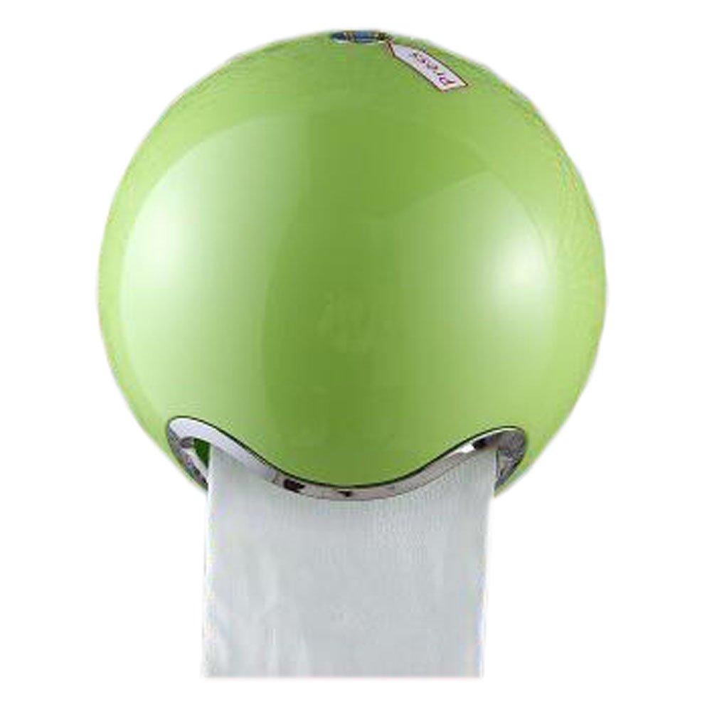 Creative para rollo de papel higiénico caja de pañuelos con tapa caja de rollo de papel para papel, esférica verde: Amazon.es: Hogar